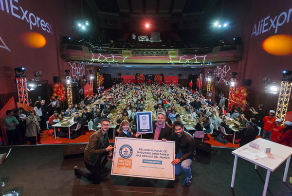 Primer guinness world records con aliexpress