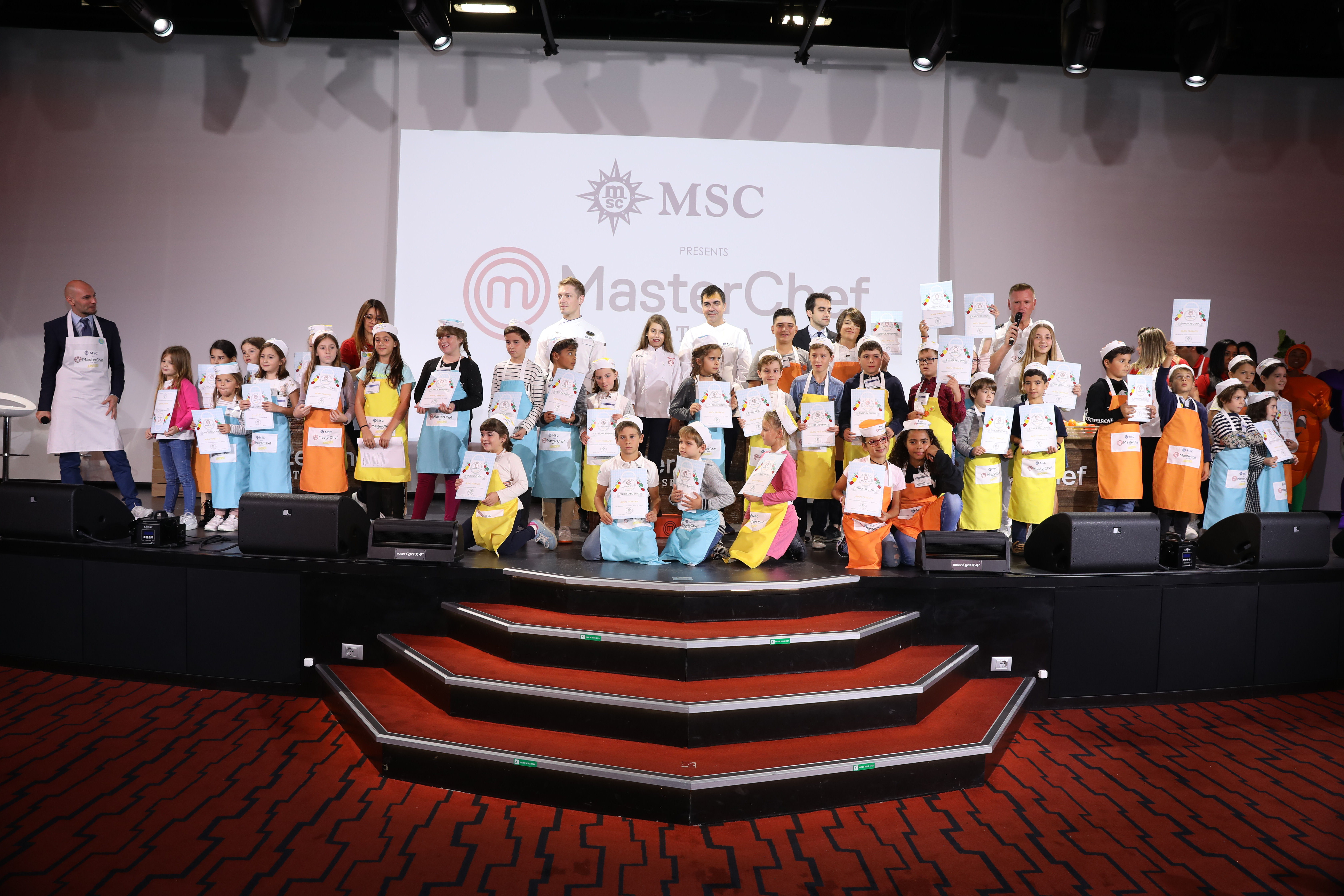 MasterChef Juniors at Sea with MSC Cruceros