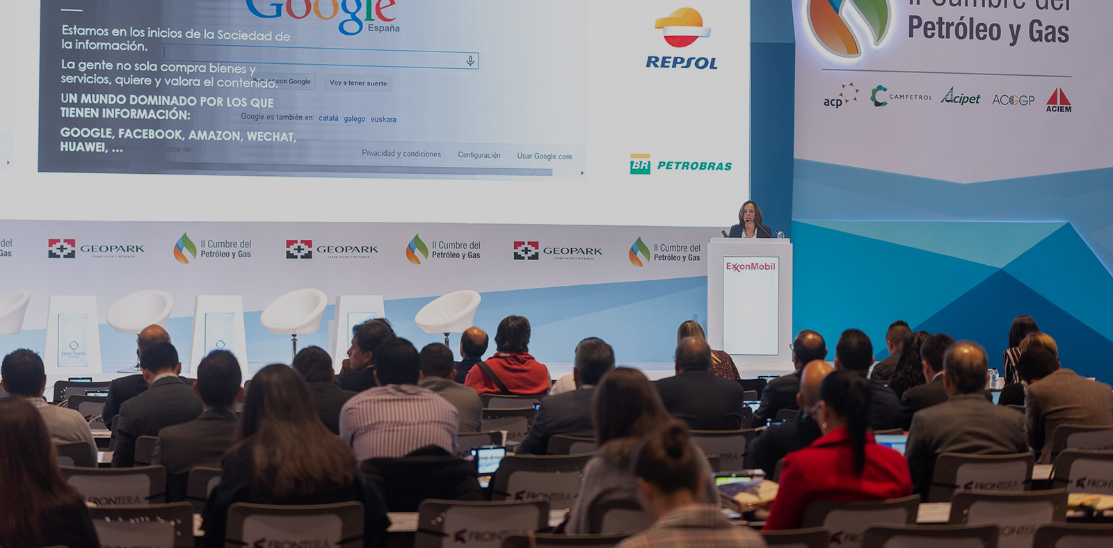 Our CEO, Carme Miró, International Speaker at the Second Oil and Gas Summit, in Bogotá