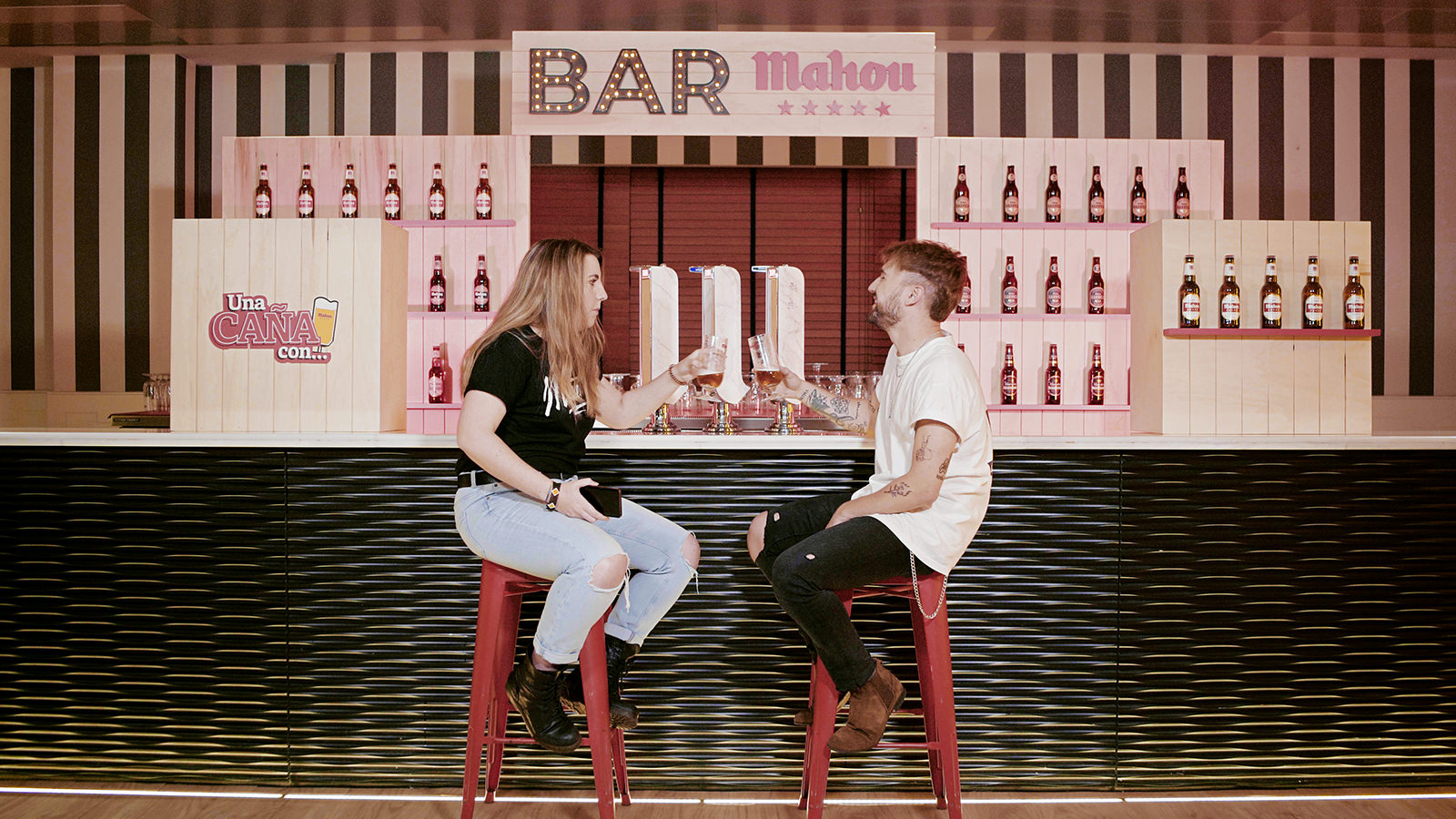 Our campaign 'A beer with…' for Mahou, included in IPMARK best strategies